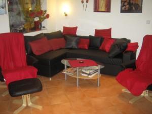 Sitzgruppe im Haus